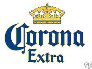 "Corona Extra Vinyl Sticker Decal 14"""