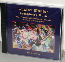 WATER LILY CD WLA-WS-76: MAHLER Symphony No. 5 - Temirkanov, 2005 USA OOP SEALED