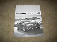 Volvo XC70 Ocean Race Preisliste Price list vom 01.07.2008