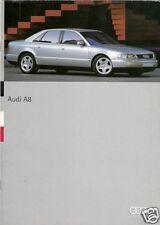 Audi A8 1994 Swiss Market 16pp Sales Brochure 2.8 4.2 Quattro