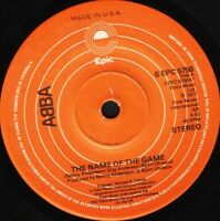 """ABBA the name of the game/i wonder (departure) S EPC 5760 epic 1977 7"""" WS EX/"""