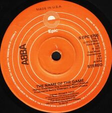 "ABBA the name of the game/i wonder (departure) S EPC 5760 epic 1977 7"" WS EX/"