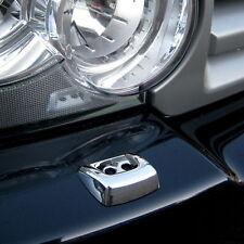 PARAURTI ANTERIORE FARO Rondella Jet CROMATA copre per Range Rover L322 Vogue 2006 +