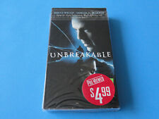 Unbreakable (Blockbuster Video Vhs) Bruce Willis