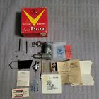 Vintage Super Tigre .56 RC engine and parts lot Made in Bologna Italy READ DESCR