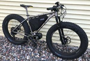 Ultimate Trail Groomer Fat Tire Titanium E-Bike