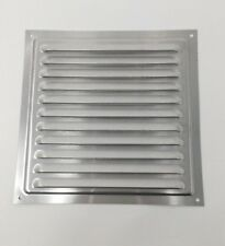 200 x 200mm Grill Air Vent - Metal - Aluminium Rust Free with Mosquito / Bug Net
