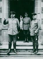 Paul von Hindenburg and Erich von Ludendorf - 8x10 photograph