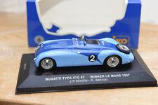1/43 - BUGATTI T57G #2 Vainqueur Le Mans 1937 - Ixo