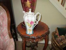 Antique RS Prussia Porcelain Chocolate Pot Excellent