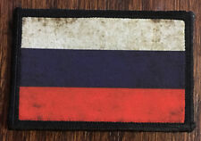Russian Federation Flag Morale Patch Soviet Россия Military tactical Army AK47