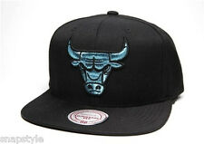 New NBA Chicago Bulls - Mitchell & Ness Black Gamma Propylene Snapback Jordan 11
