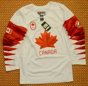 Canada Hockey Team, Olympic Games Jersey by Nike, Adult small, New