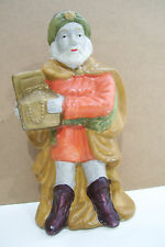 """Nativity Collectibles One Of 3 Wise Men With  Treasure Chest 7"""" Tall Figurine"""