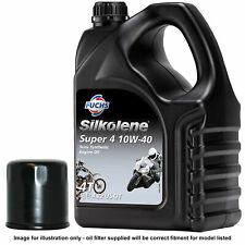 SUZUKI GSF1200 BANDIT 96-06 SILKOLENE OIL AND FILTER