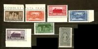 Italy Sc 232 to 238 MINT NH  VF See DESCRIPTION SCAN