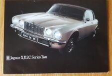 No. 68 Jaguar XJ12C XJSC 12 cylinder c1975 Postcard Vintage Ad Galllery VJ279PC
