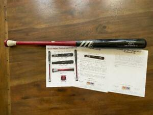 2012 Bryce Harper Nationals PSA 10 RoY Game Used Baseball Bat