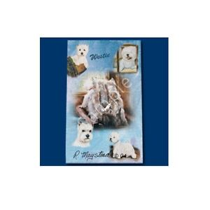 Roller Ink Pen Dog Breed Ruth Maystead Fine Line - West Highland White Westie