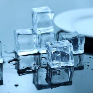 Selens 9 pcs Artificial Ice Cube Reusable Acrylic Crystal Food Photography Prop
