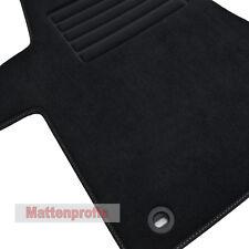 Mattenprofis Premium Velour Fußmatten für VW T5 mit 2 Einzelsitze ab Bj.2003 sw