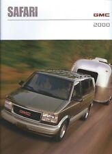 Auto Brochure - GMC - Safari - 2000 - Van - FRENCH language (A1316)