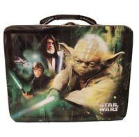 Star Wars Lunch Box Yoda/Darth Vader Luke Skywalker Obi Wan Kenobi Darth Maul