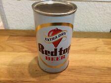 Red top Beer (119-37) empty flat top beer can by Red Top, Cincinnati, Oh