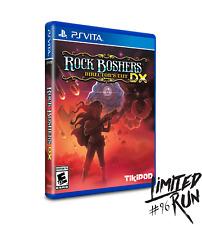 Rock Boshers DX - (2500 copies worldwide) - PSVITA - NEW - Limited Run Games #96
