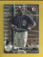 Manuel Margot RC 2017 Bowman Rookie Card # 20 San Diego Padres Baseball