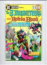 DC SPECIAL #23 Three Musketeers and Robin Hood 1976 NM Vintage Comic