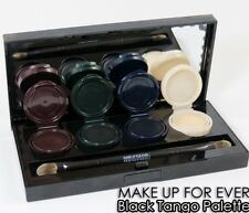 Make UP FOR EVER PROFESSIONALE-NERO Tango Tavolozza-Nuovissimo inscatolato #waterproof