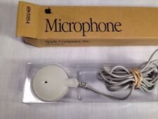 Vintage 1991, Apple Computer Microphone 699-5103-A, In Original Packaging