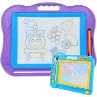 2-pack Magnetic Drawing Board,Large Magnet Writing Board,Small Drawing Board