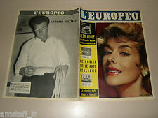 EUROPEO=1959/9=CONSULTA RABBINICA CONDANNA LA SACRA SCRITTURA A FUMETTI BIBBIA=