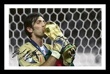 GIANLUIGI BUFFON - ITALY AUTOGRAPHED SIGNED & FRAMED PP POSTER PHOTO