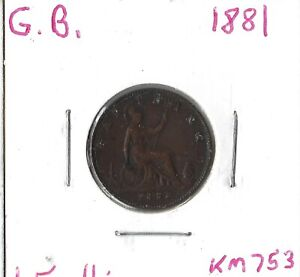 Coin Great Britain 1 Farthing 1881 KM753, Combined shipping
