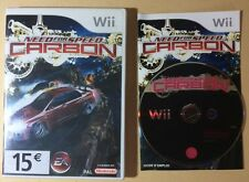 Jeu Vidéo WII NINTENDO NEED FOR SPEED CARBON