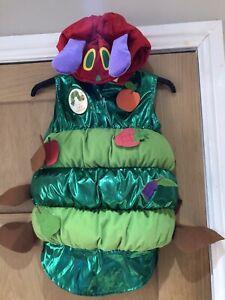 The Very Hungry Caterpillar Costume Fancy Dress 7-8 Years Halloween