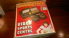 GRANDSTAND VIDEO SPORTS CENTRE TV PONG SD070 & 2 GAMES starter bundle BOXED #S42