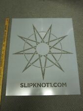 SLIPKNOT 2014 ROADRUNNER RECORDS promotional BIG stencil Flawless New Old Stock