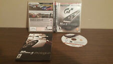 Gran Turismo 5 Prologue (Sony PlayStation 3, 2007)  COMPLETE NFR variant