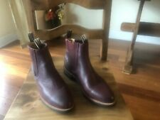 Men's Los Altos cowboy Boots Beeswax Leather Size 12 - Brown