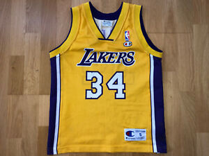 Shaquille O'Neal Los Angeles Lakers Small Y LA Champion NBA Jersey Trikot B206