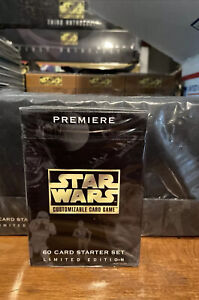 Star Wars CCG Premiere Limited BB  Starter Deck Box SWCCG Decipher 1995 Sealed
