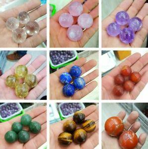 Natural Quartz Sphere Quartz Crystal Ball Reiki Healing 1pcs