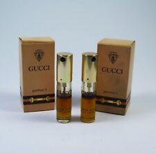 GUCCI PARFUM 1 2 x 7g Parfum Spray recharge NEU RAR Vintage