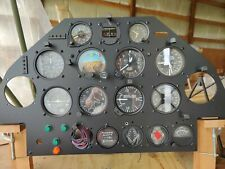 Complete Experimental Aircraft Instrument Panel
