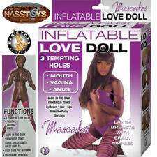 """Inflatable Sex Doll """"Mercedes"""" Blow-Up Love Toy 3 Pleasure Sex Holes - NassToys"""
