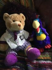 MR CADBURYS Parrot Plush TV Chocolate +rare Advertising Teddy + Freddo Plush